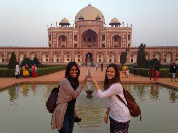 Outside Humayun's Tomb