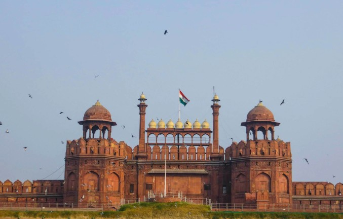 Red Fort Front View