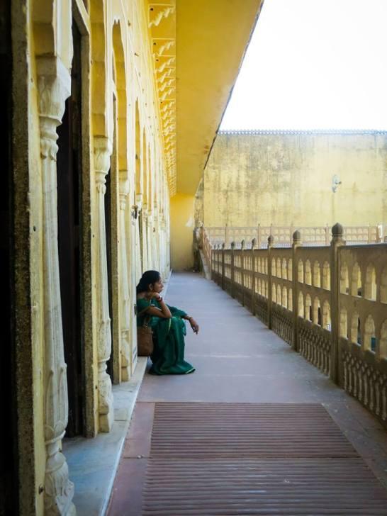 Hawa Mahal Woman