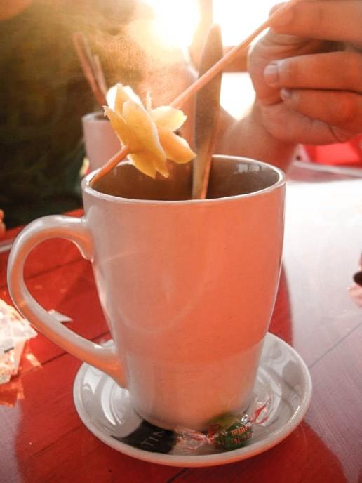 Tea at Sardinha