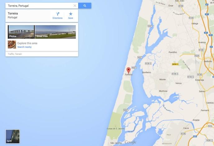 Torreira Google Map